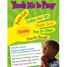 <strong>Trend Enterprises</strong> Teach Me To Pray Learning Chart