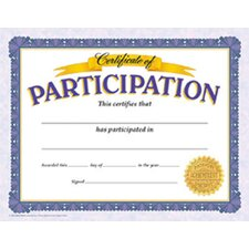 Certificate Of Participation 30/pk