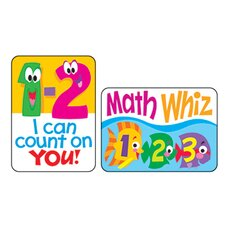 Applause Stickers Math Fun 100/pk