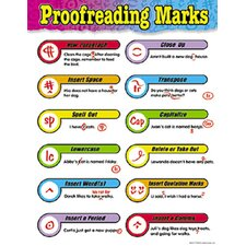 Chart Proofreading Marks Gr 3-6