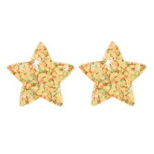 Supershapes Gold Sparkle 400/pk