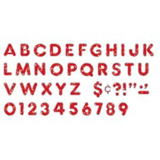 Red Sparkle Plus 2 Ready Letters
