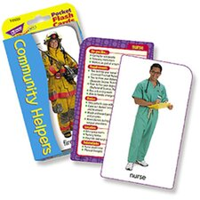 Pocket Flash Cards Community 56-pk