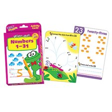 Numbers 1-31 Wipe Off Activity