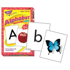 Match Me Cards Alphabet 52/box