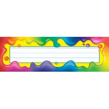 Rainbow Gel Desk Toppers Name