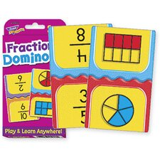Challenge Cards Fractions Domino