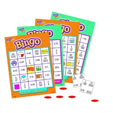 Fractions Decimals & Percents Bingo