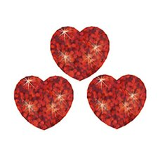 Supershapes Red Sparkle 400/pk