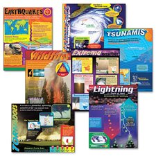 Learning Chart Combo Pack, Weather Extremes, 7/Pack