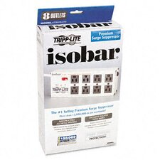 Isobar Surge Suppressor 8 Outlet, 12Ft Cord, 3840 Joules