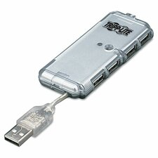 U222-004-R 4-Port Usb 2.0 Ultra-Mini Hub