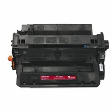 55X Compatible Toner Secure, High-Yield, 12,500 Pageyield, Black