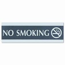 <strong>U.S. Stamp & Sign</strong> Headline Sign Century Series Office Sign, No Smoking