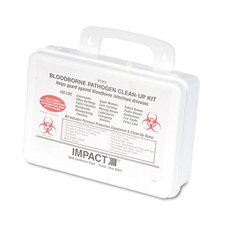 Bloodborne Pathogen Clean-Up Kit In Plastic Case