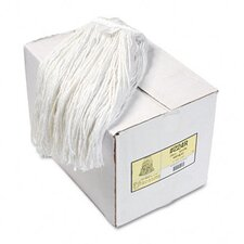 Premium Cut-End Wet Mop Heads, 12/Carton