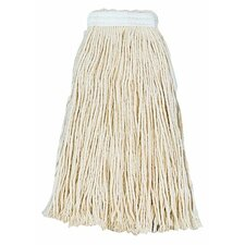 Unisan - Cut-End Wet Mop Heads #24 Cotton Mop Head: 871-2024C - #24 cotton mop head
