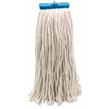 Unisan - Cut-End Wet Mop Heads C-24 Oz Cttn Mop Head Lieflat Leader: 871-724C - c-24 oz cttn mop head lieflat leader