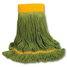 EchoMop Looped-End Large Mop Head in Green (Set of 14)