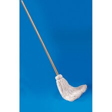 <strong>Unisan</strong> Deck Mop with Wooden Handle