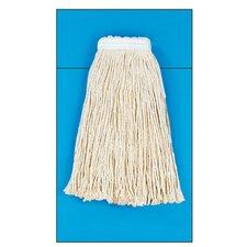 Cotton Fiber Cut-End Mop Head in White (Set of 15)