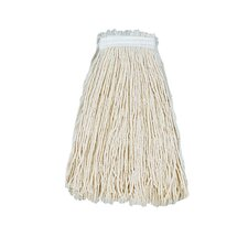 Cut-End Mop Head with Premium Standard Head in White