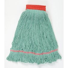 Large Super Loop Mop Head in Green (Set of 13)