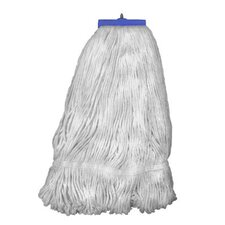 Rayon Fibers Mop Head in White