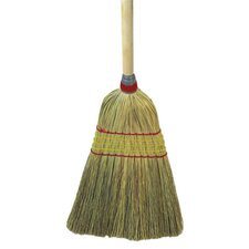 Yucca / Corn Fiber Bristles Parlor Broom in Natural