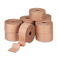 General Supply Reinforced Kraft Sealing Tape, 10/Carton