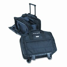 <strong>UNITED STATES LUGGAGE</strong> Solo Rolling Laptop Case, Poly