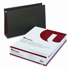 Three Inch Box Bottom Pressboard Hanging Folders, 25/Box