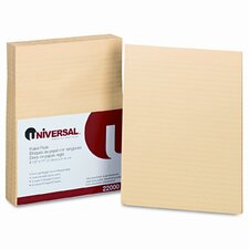 Glue Top Writing Pads, Wide Rule, Letter, 50 Sheets, 12-Pack