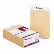Perforated Edge Writing Pad, Jr. Legal Rule, 5x8, 50 Sheets, 12-Pack