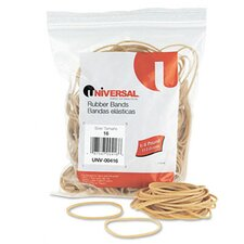 Rubber Bands, 475 Bands/0.25 lb Pack