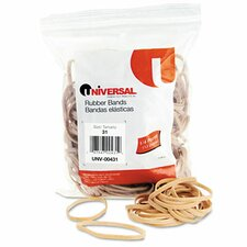 Rubber Bands, 245 Bands/0.25 lb Pack