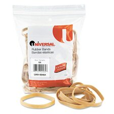 Rubber Bands, 80 Bands/0.25 lb Pack