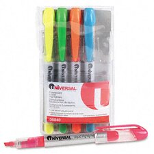 Liquid Pen Style Highlighter (Set of 5)