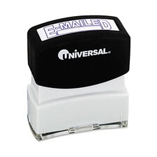 Message Stamp, E-Mailed, Pre-Inked/Re-Inkable