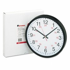"12.75"" 24-Hour Wall Clock"