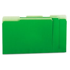 <strong>Universal®</strong> Recycled Interior File Folders, 100/Box