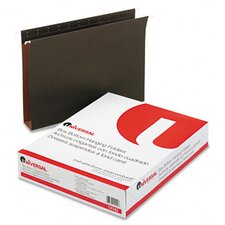<strong>Universal®</strong> Two Inch Box Bottom Pressboard Hanging Folder, 25/Box