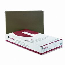 One Inch Box Bottom Pressboard Hanging Folder, 25/Box