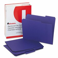 <strong>Universal®</strong> Colored File Folders, 100/Box
