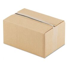 "Corrugated Kraft Fixed-Depth Shipping Carton, 25/Bundle (20.5"" H x 14.5"" W x 8"" D)"