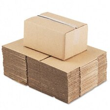 "<strong>Universal®</strong> Corrugated Kraft Fixed-Depth Shipping Carton, 25/Bundle (20.5"" H x 14.5"" W x 8"" D)"
