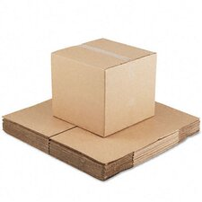 Corrugated Kraft Fixed-Depth Shipping Carton, 15/Bundle