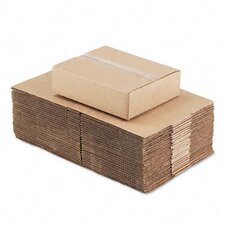 Corrugated Kraft Fixed-Depth Shipping Carton, 25/Bundle