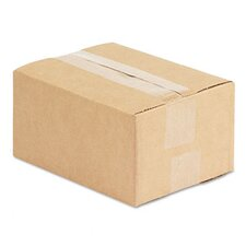 "Corrugated Kraft Fixed-Depth Shipping Carton, 25/Bundle (22.5"" H x 10.5"" W x 7"" D)"
