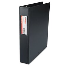 D-Ring Binder w/Label Holder, 1-1/2in Capacity